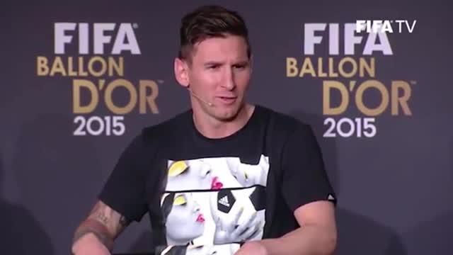 Messi, agradecido por su año en el Barça