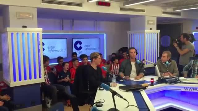 Así recibieron a Torres en El partido de las 12