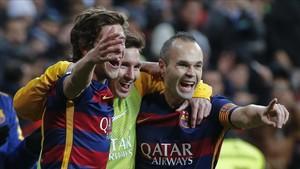 Iniesta fue el gran artífice del último triunfo ante el Real Madrid, 0-4 en el Bernabéu