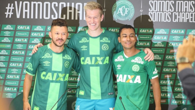El Chapecoense presents its first three signings