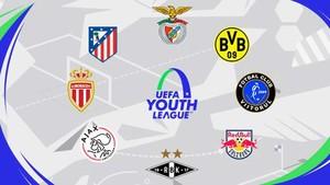 Algunos de los equipos clasificados en los octavos de final de la Youth League