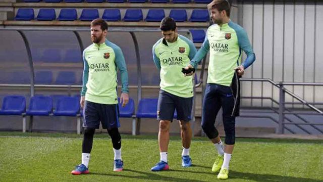 El Barça vuelve a entrenar tras el varapalo de París
