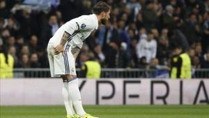 Ramos fue baja ante el Espanyol