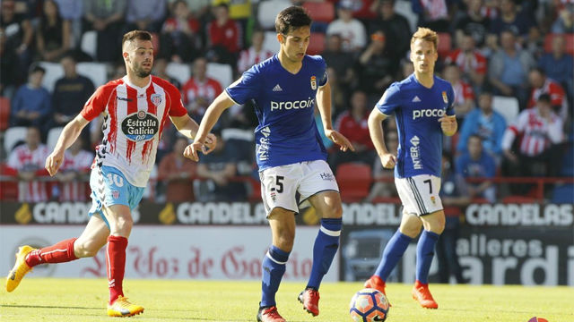 Video resumen Lugo - Oviedo (2-1). Jornada 34, Liga 1|2|3 2016-17