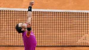 Rafa Nadal celebra su décimo título en Montecarlo