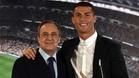 Florentino Pérez defendió a Cristiano Ronaldo