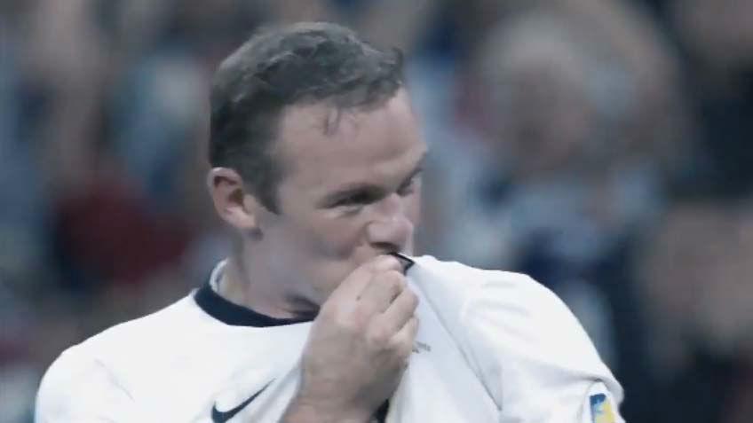 El GIF de despedida de Rooney de la selección
