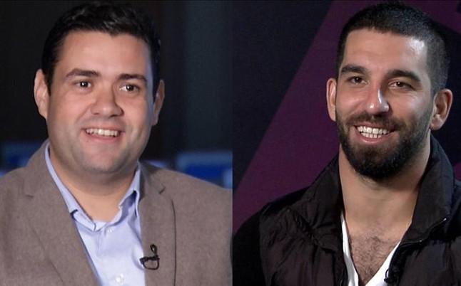 """Arda Turan: """"A Messi, Neymar y Luis Su�rez se les nota que se quieren"""""""