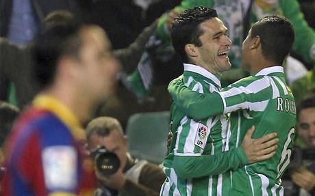 El Betis acab�, en 2011, con la racha triunfal del Bar�a de Guardiola