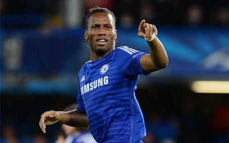Didier Drogba volvi� a mojar como jugador blue despu�s de dos a�os