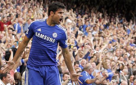 Diego Costa anota en Stamford Bridge