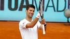 Djokovic vuelve al Open de Madrid confiado y seguro