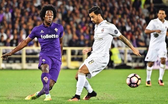 Fiorentina y Milan tuvieron ocasiones para marcar, pero les falt� punter�a