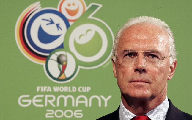 """Beckenbauer: """"En el Mundial 2006 no hubo sobornos"""""""