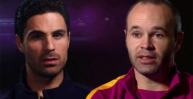 Iniesta y Arteta protagonizan un cara a cara para el Arsenal - Fc Barcelona
