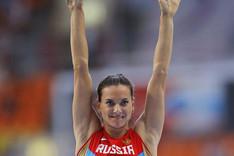 Isinbayeva, oro en los Mundiales de Mosc�.