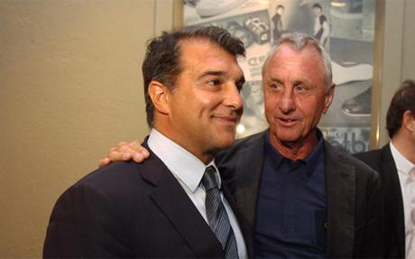 Cruyff, Masia, Catalunya y UNICEF