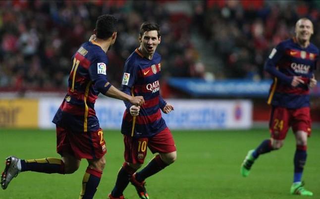 Sporting - FC Barcelona: El torbellino azulgrana sigue imparable