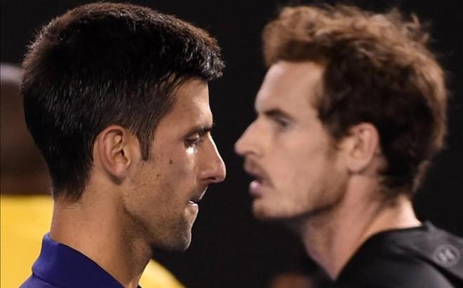 Novak Djokovic y Andy Murray luchar�n las pr�ximas semanas por el n�mero uno