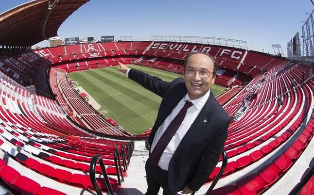 El Sevilla tambi�n pide la final de Copa en el Bernab�u