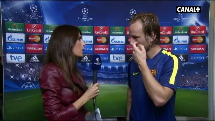 Rakitic afronta con ilusi�n el duelo ante el Madrid