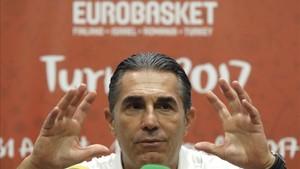 Scariolo analizó las perpsecitvas del duelo de semifinales