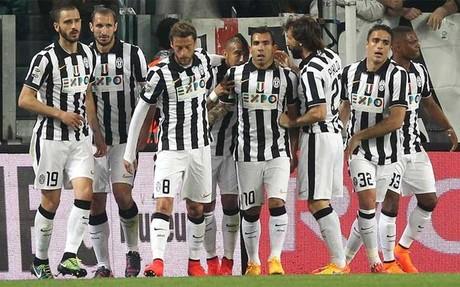Tévez y Bonucci solventan el trámite del Juventus ante el Lazio