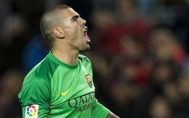 Liverpool boss Brendan Rodgers target Barcelona keeper Victor Valdes as Monaco move falls through [Metro]