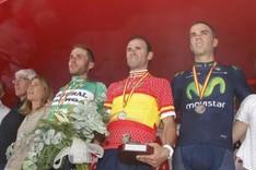 Alejandro Valverde logr� su segundo Campeonato de Espa�a en el 2015