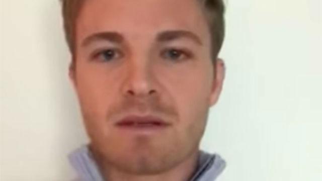 Emocionado mensaje de despedida de Nico Rosberg
