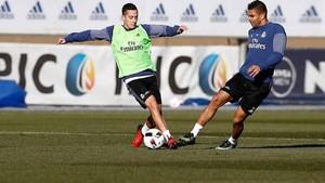 El Real Madrid se ha entrenado sin Cristiano Ronaldo