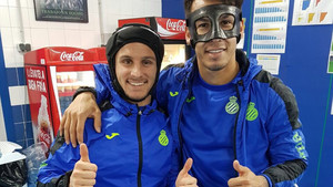 Robin Piatti y Batman Hernán Pérez quieren conquistar el Bernabéu