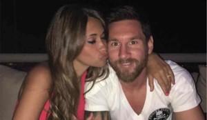 Antonella Roccuzzo ha felicitado a Leo Messi