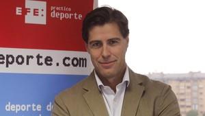 Raúl Chapado, presidente de la federación española de atletismo