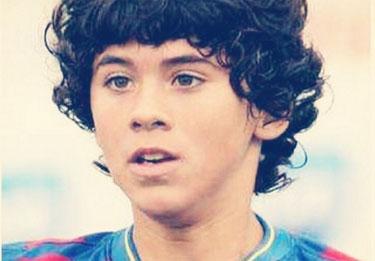 Ale��, el ni�o que quer�a ser Rivaldo
