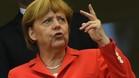 Merkel deseó buena suerte al equipo alemán