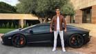 Cristiano Ronaldo deja tirado su Lamborghini en plena calle