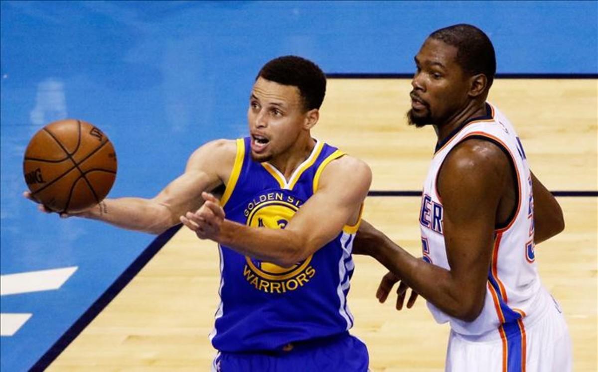 Durant y Curry, por fin juntos