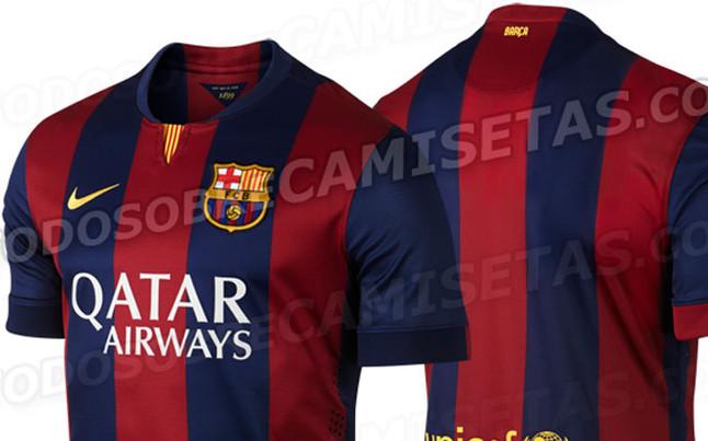 Foto  Esta será la camiseta para la temporada 2014-2015 del Barcelona e81ee886467