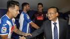 Hernán Pérez solo saldrá este verano del Espanyol si la oferta económica es interesante para el club