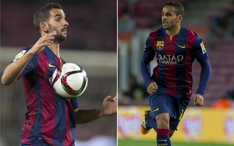 Montoya y Douglas, los otros protagonistas del Bar�a-Huesca