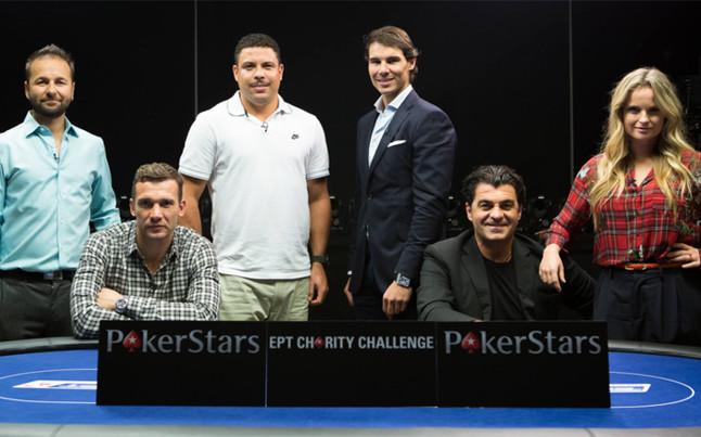 Rafa Nadal y Ronaldo medirán sus fuerzas jugando al póker