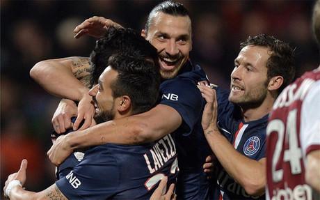 El PSG sufri� de lo lindo para doblegar al Metz
