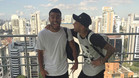 Neymar y Rafinha ya est�n juntos