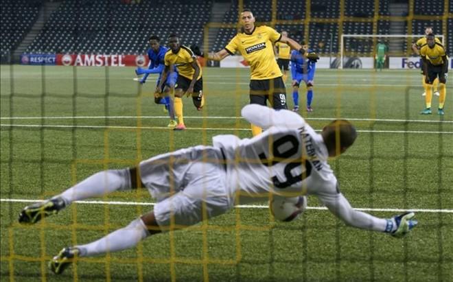 En la �ltima jornada de la Europa League se fallaron 5 de los 9 penaltis lanzados.