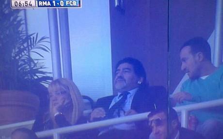 Maradona, invitado de lujo de Cristiano Ronaldo