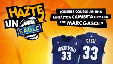 Sorteamos una camiseta firmada por Marc Gasol!