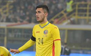 Andrei Ivan, jugando con Rumanía