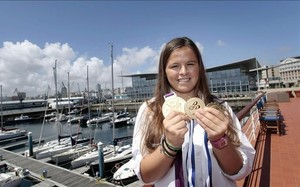 Sofía Toro, con sus dos grandes oros: el de Londres 12 y el del Mundial Match Race de Corea13