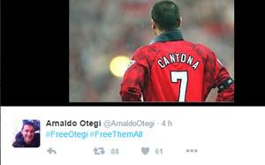 Otegi y la imagen de Cantona